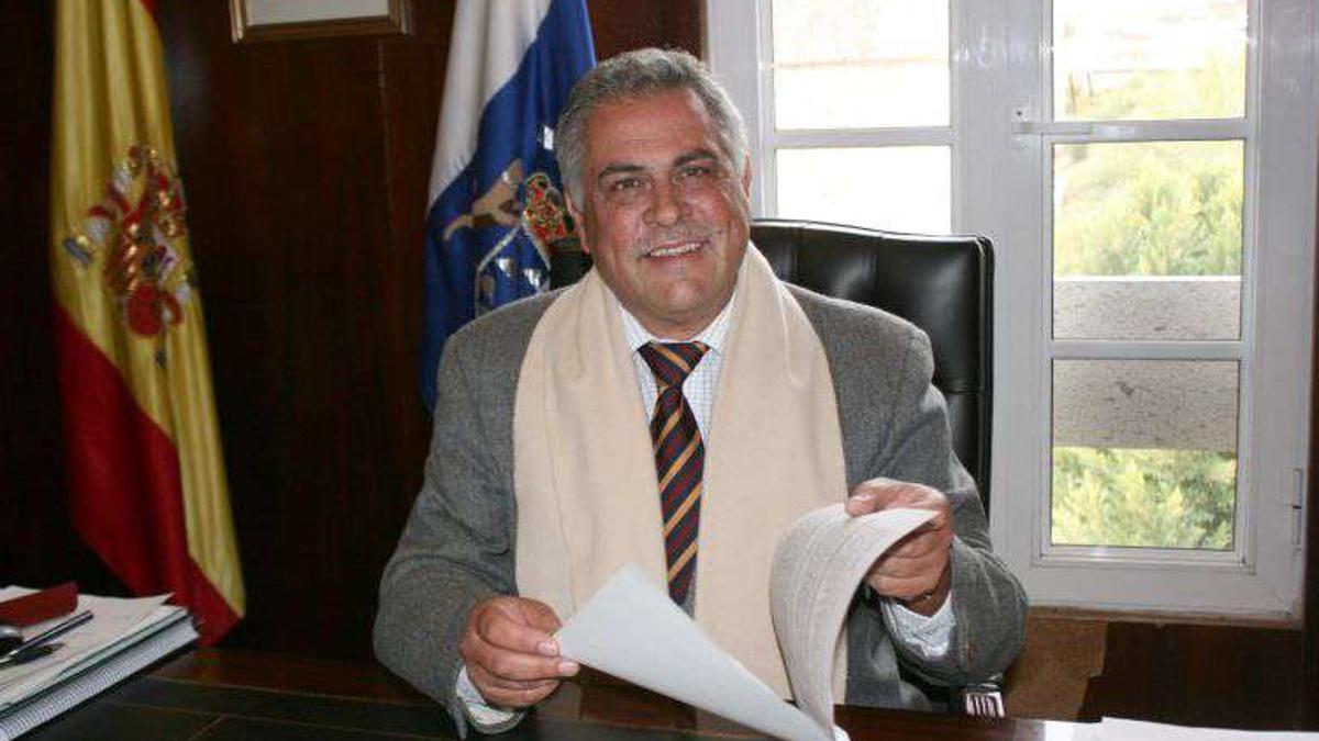 Jaime González Cejas, exalcalde de Granadilla