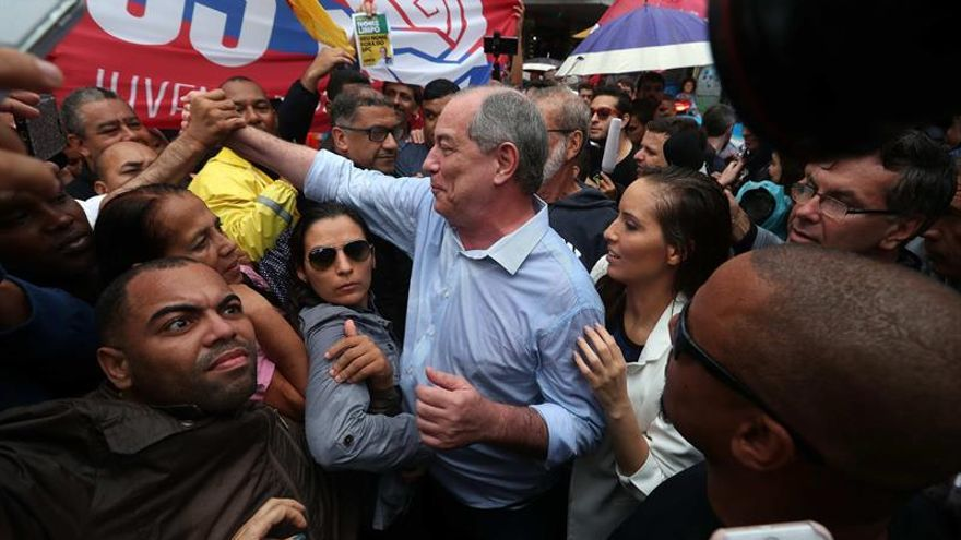El PDT de Ciro Gomes anuncia apoyo a Haddad para evitar a Bolsonaro
