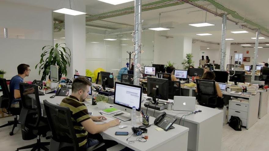 La redacción de Enfemenino.com, en el madrileño barrio de Salamanca (Imagen: cedida por Enfemenino.com)