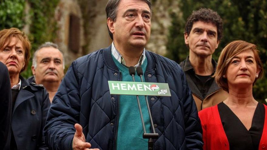 Esteban: Un gobierno de PP, Cs y Vox sería un problema muy grave para Euskadi