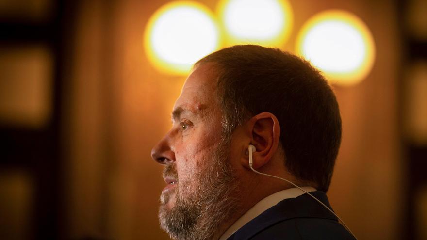 El presidente de ERC, Oriol Junqueras. EFE/Enric Fontcuberta/Archivo