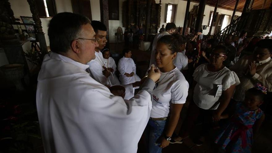 Los españoles encantados con el cuidado con que Panamá acoge a los peregrinos