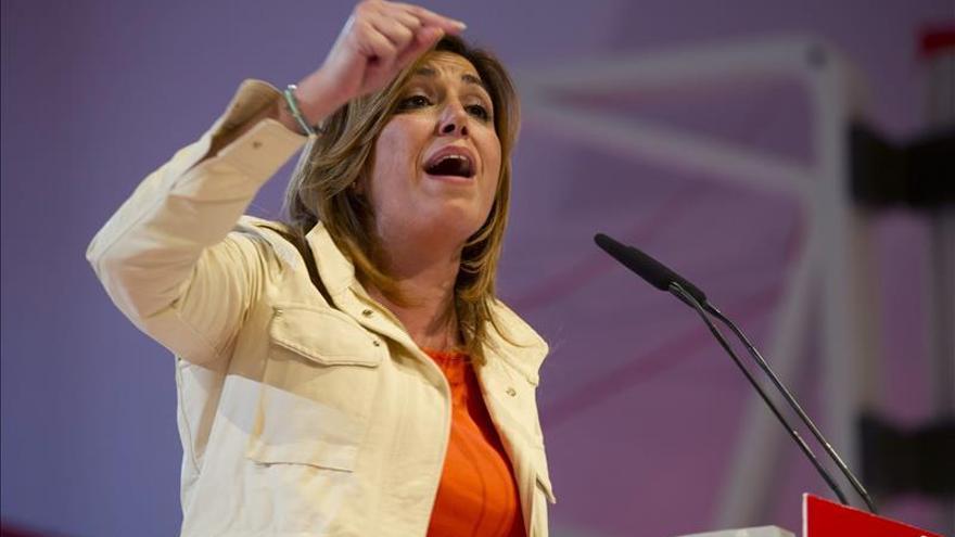 "Díaz insta a Rajoy a que pida a ""sus"" comunidades cumplir el déficit como Andalucía"