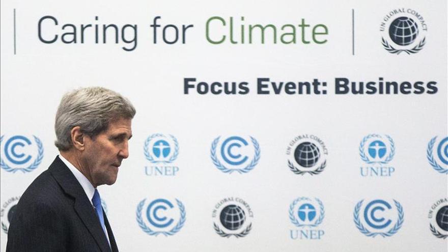 """Kerry advierte de que un fracaso en la Cumbre de París tendría """"consecuencias históricas"""""""