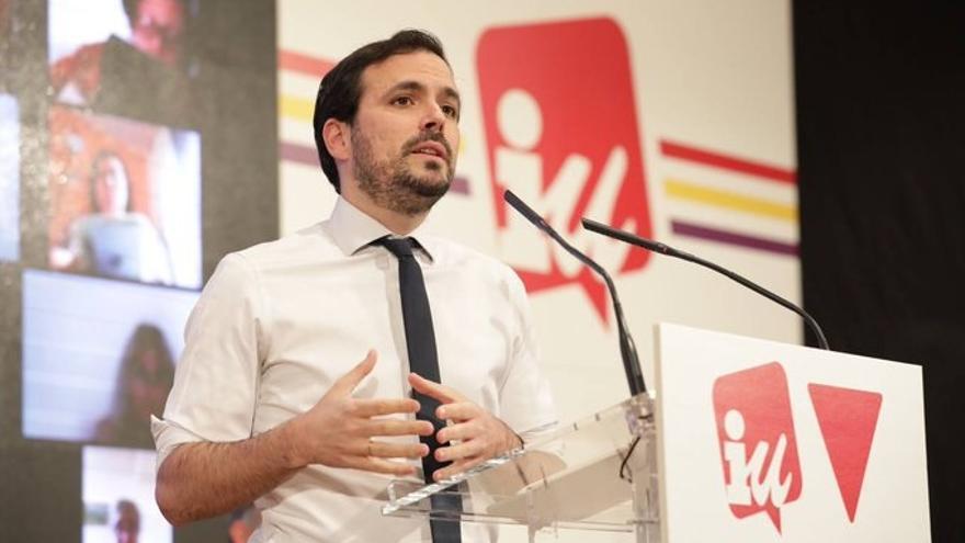 4M.- Garzón aceptaría un pacto de la izquierda con Cs si acuerdan un programa de regeneración para Madrid