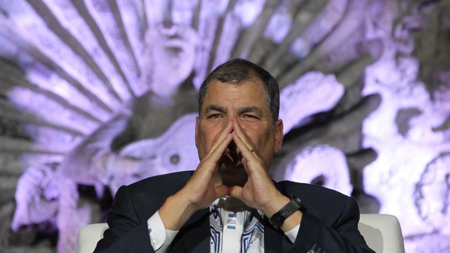 Correa aspirará a la vicepresidencia en las elecciones de Ecuador, según asesor