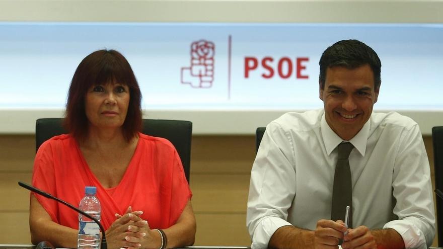 """La presidenta del PSOE dice que Sánchez """"probablemente"""" debería dimitir si el Comité Federal 'tumba' su propuesta"""