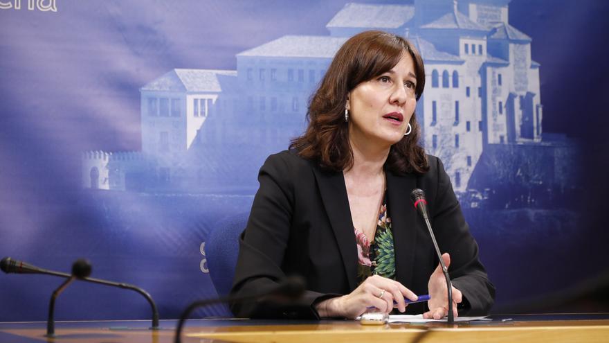 Blanca Fernández FOTO: Carmen Toldos / Cortes Castilla-La Mancha