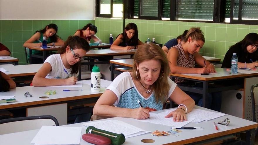 Examen de oposición