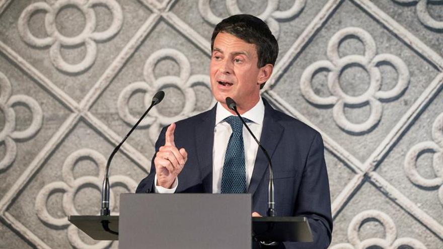 Valls renunciará a todas sus responsabilidades políticas en Francia