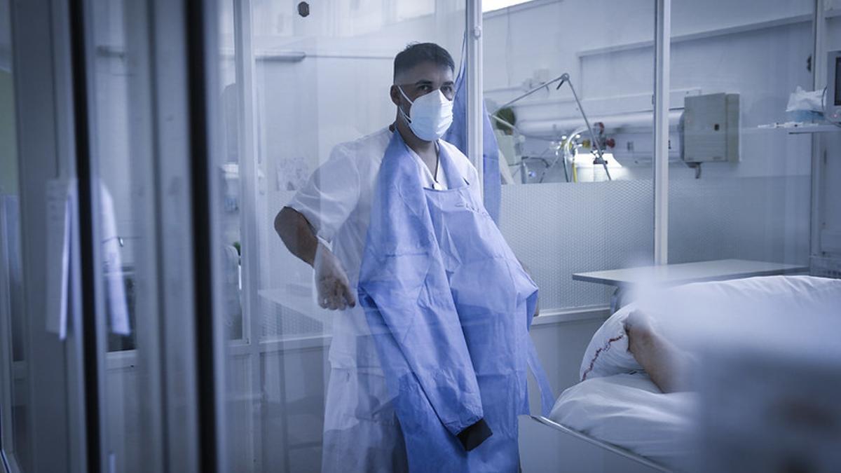 La Unidad de Terapia Intensiva de Bariloche ya no alcanza con los enfermos con Covid-19