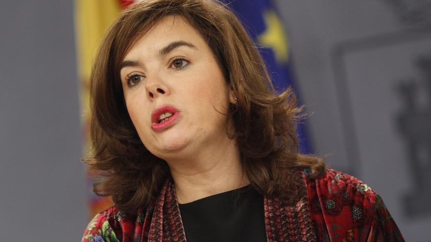 Sáenz de Santamaría elude pronunciarse sobre si habrá problemas para formar Gobierno ante la pluralidad partidista