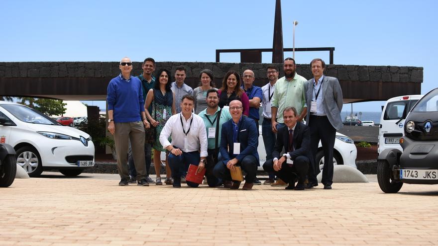 Participantes en la Semana Europea de la Movilidad Sostenible.