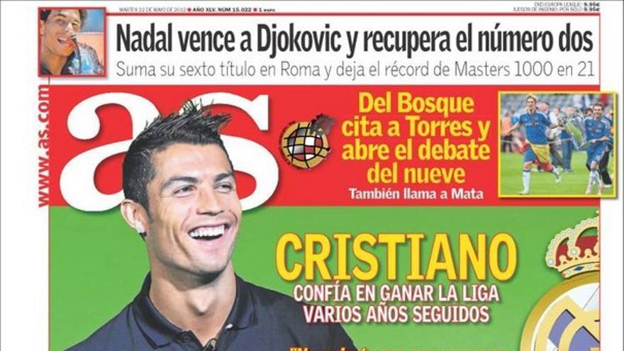 De las portadas del día (22/05/2012) #13