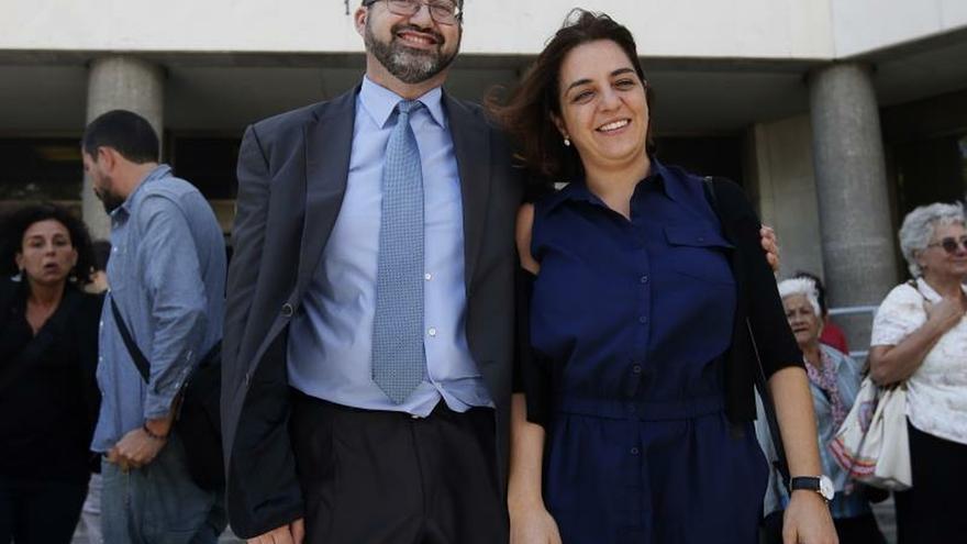 Los ex concejales de Ahora Madrid Carlos Sánchez Mato y Celia Mayer.