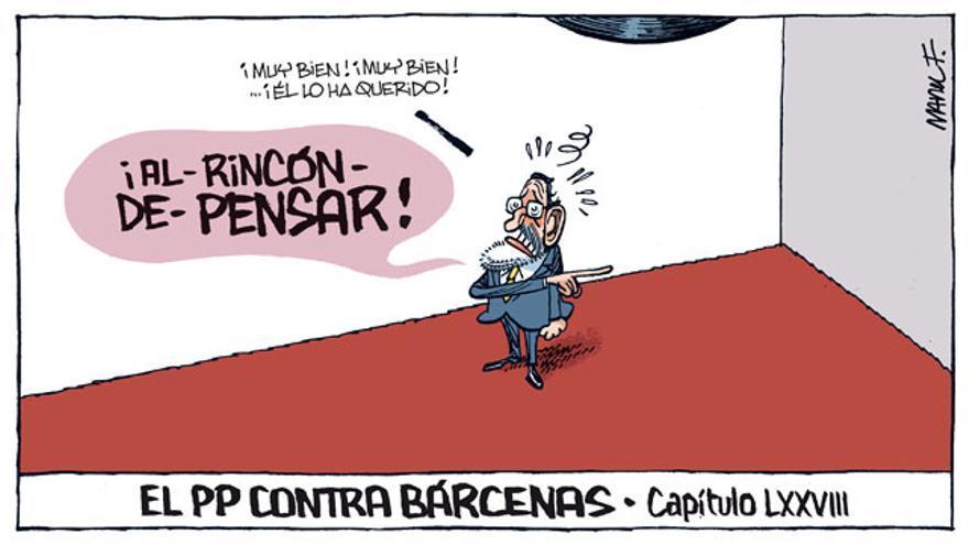 El PP contra Bárcenas