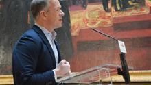Ander Gil, portavoz del grupo socialista en el Senado.