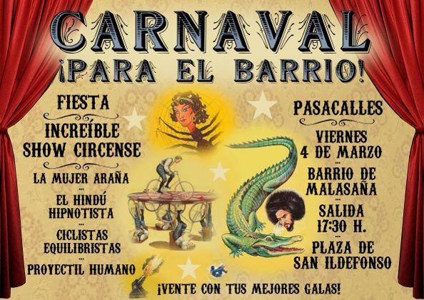 Un año más, tendremos carnaval en el barrio por obra y gracia de los vecinos