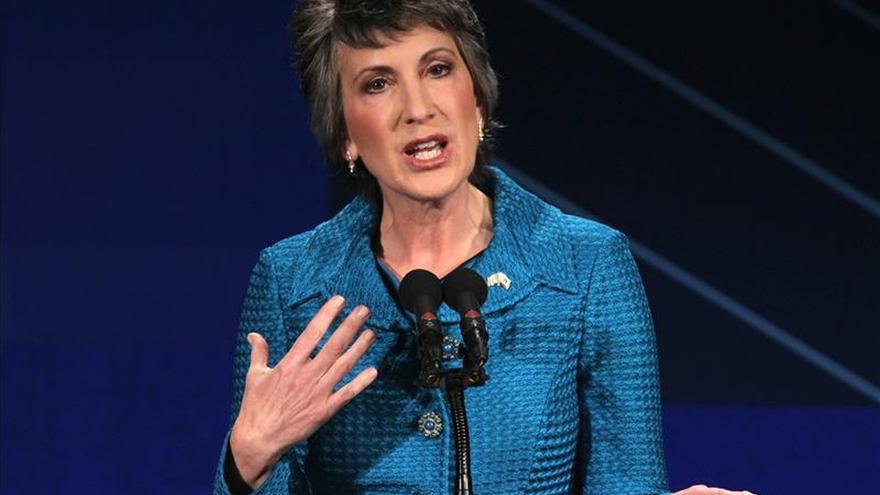 Carly Fiorina, primera mujer que aspira a la candidatura republicana en EE.UU.