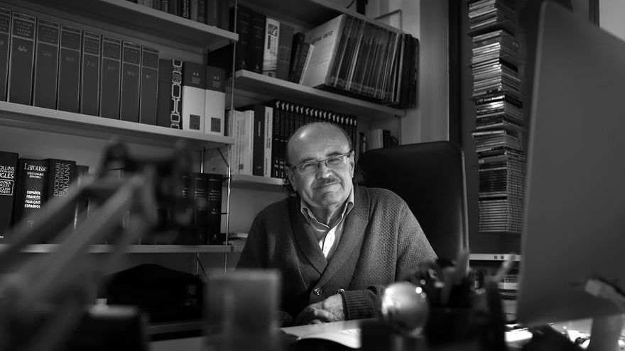 L'escriptor valencià Rodolf Sirera