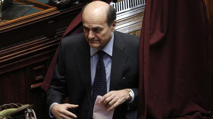 Bersani recibe el alta hospitalaria después de sufrir un derrame cerebral