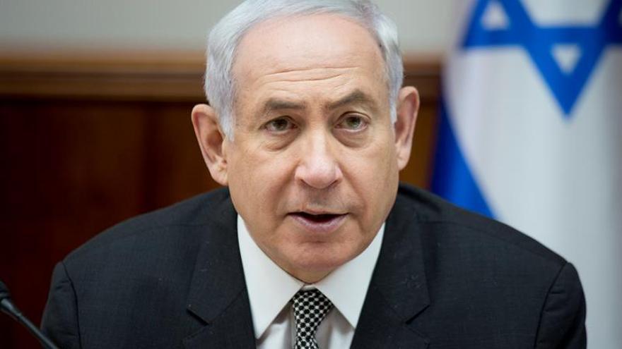 Netanyahu asegura que Israel no quiere aumentar la tensión en Gaza