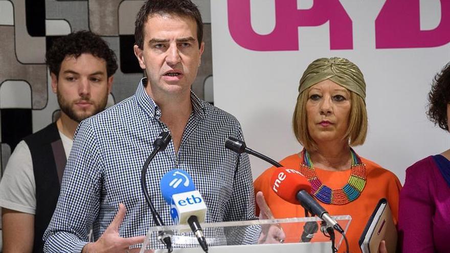 UPyD dispuesto a hablar con Ciudadanos para concurrir juntos en Euskadi