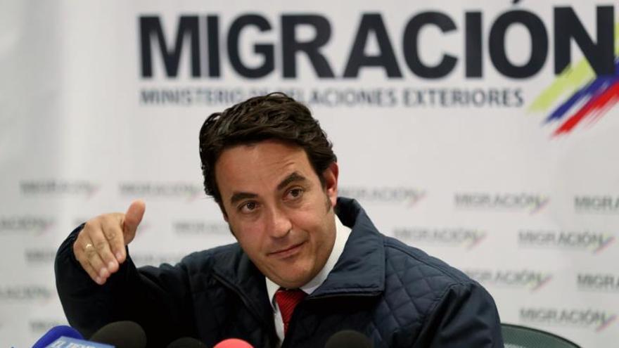 Dimite el director de Migración Colombia, clave para atender el éxodo venezolano