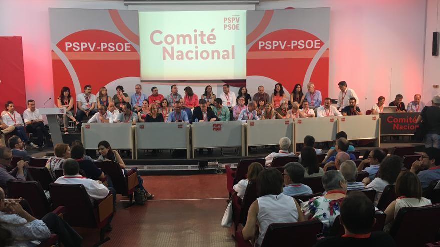 El Comité Nacional del PSPV-PSOE de este sábado 16 de julio.