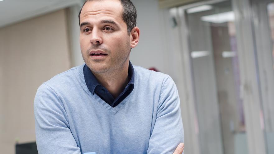 El portavoz de Ciudadanos en la Comunidad de Madrid, Ignacio Aguado. / David Conde