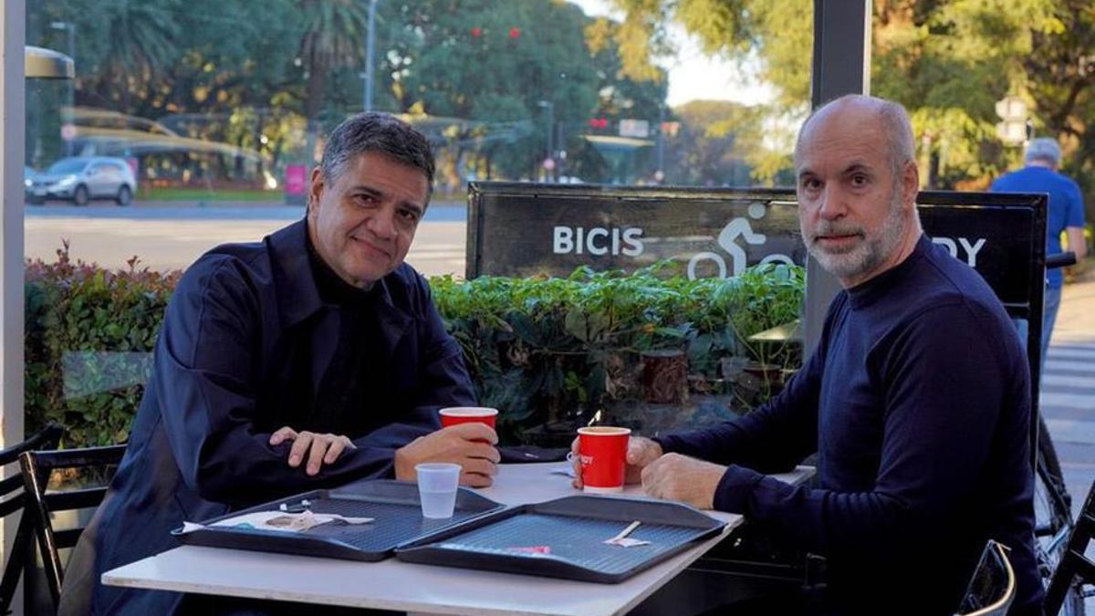 Jorge Macri y Horacio Larreta llegaron a un acuerdo tras reunirse esta mañana.