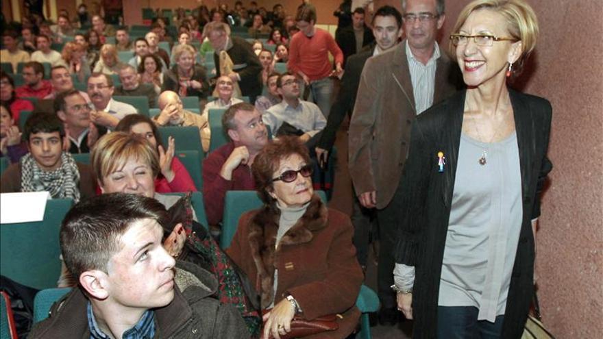 Rosa Díez exige una explicación completa al PP y nuevas leyes anticorrupción