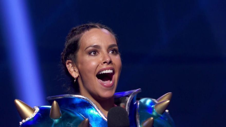 Cristina Pedroche estuvo como invitada en 'Mask Singer'