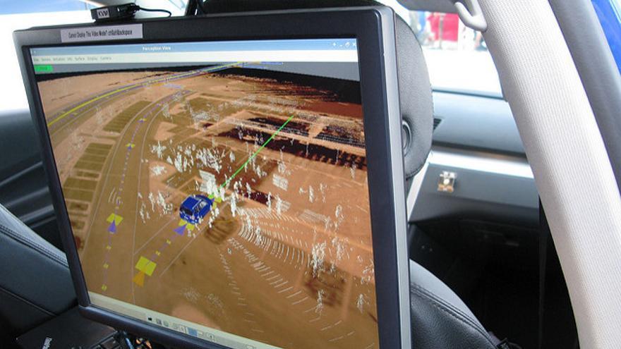 La vista es el principal sentido de los coches autónomos