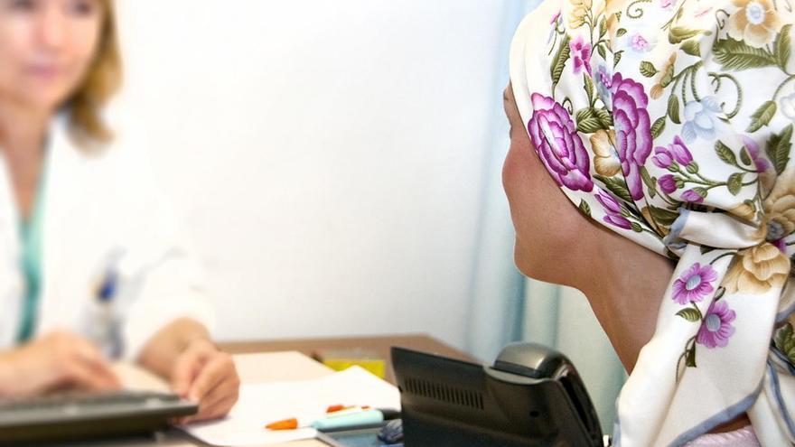 Imagen de archivo de una consulta de cáncer de mama.