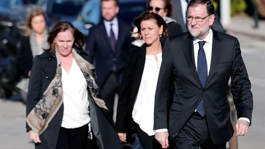 Rajoy encabeza el homenaje del PP y la sociedad valenciana a Rita Barberá