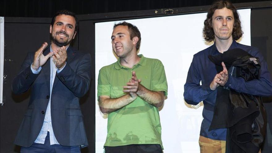 """Alberto Garzón afirma que """"faltan diez días para echar al PP de las instituciones"""""""