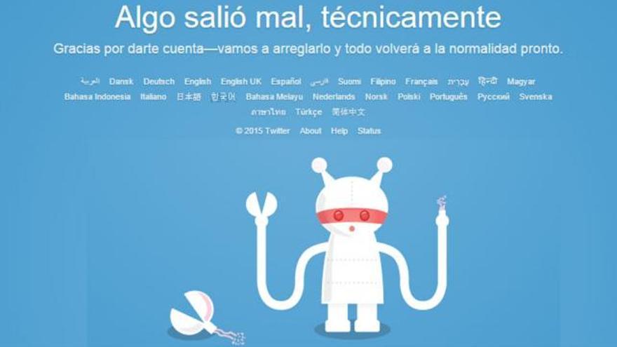 La caída de Twitter de esta semana provocó el caos entre muchos usuarios