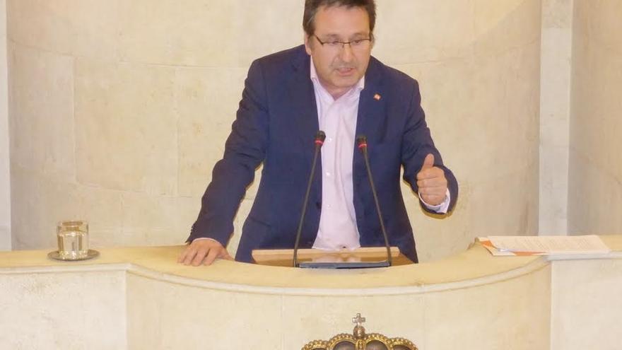 """Carrancio avisa que no apoyará una subida de impuestos, que hay que """"retocar a la baja"""""""
