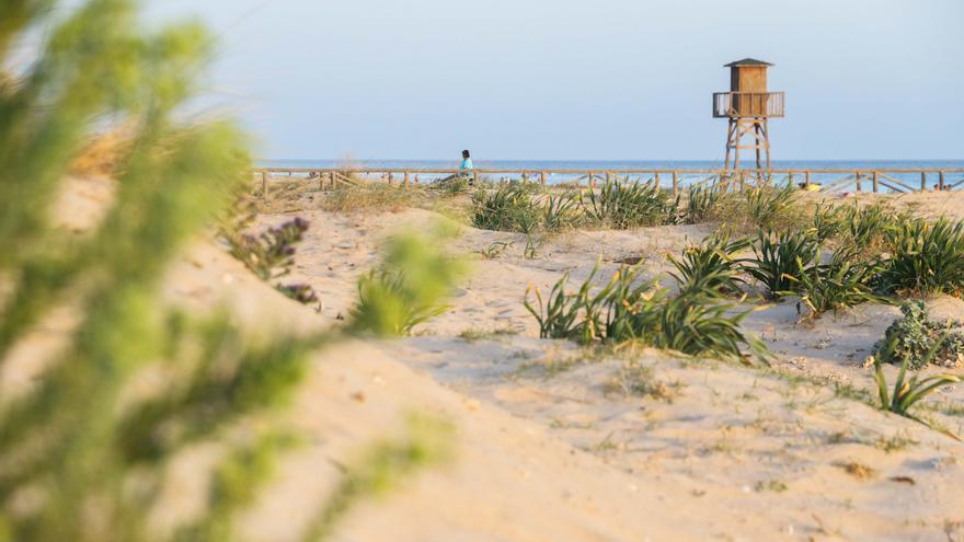 Playa de El Carmen, en Barbate.