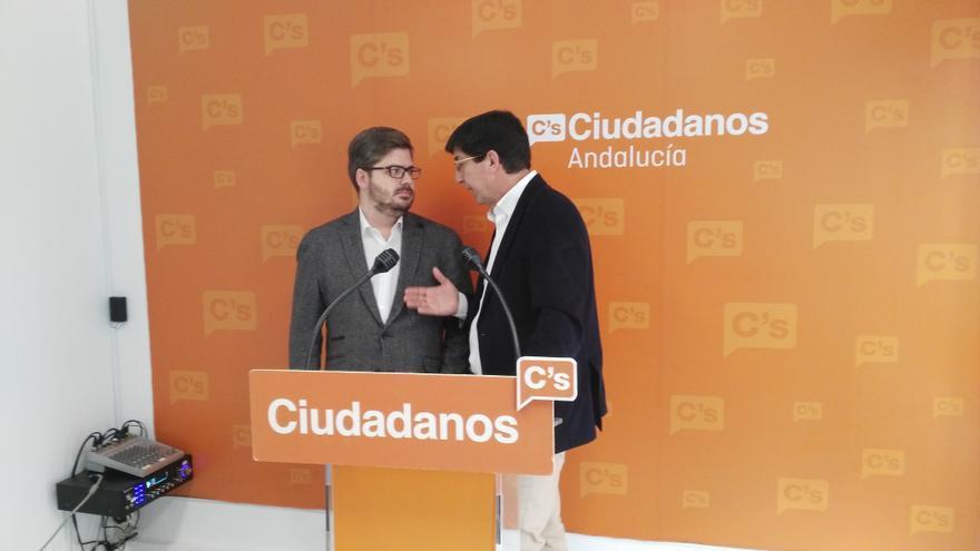 Juan Marín y Fran Hervías.