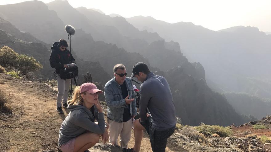 El programa de la serie 'Los Poderes extraordinarios del cuerpo humano' se está grabando en distintas localizaciones de la Isla.