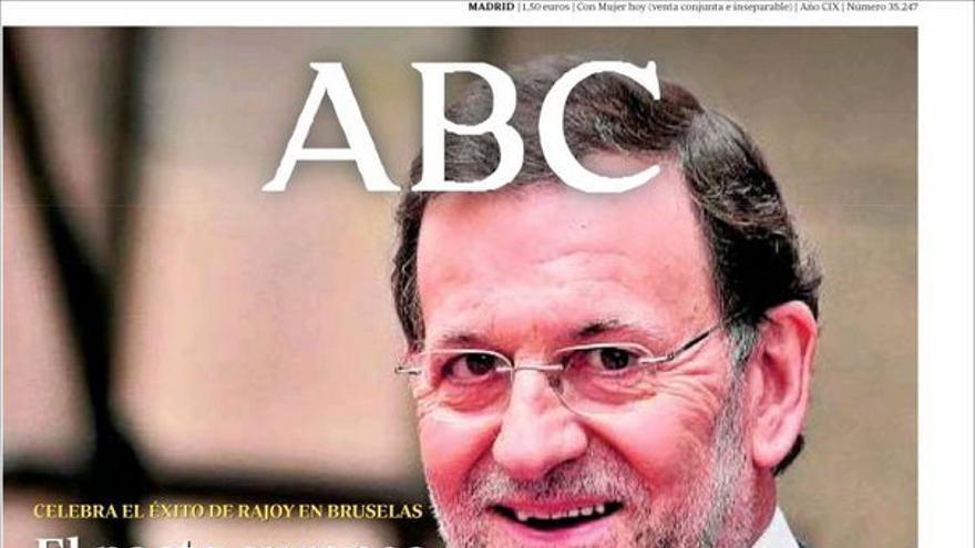 De las portadas del día (30/06/2012) #1
