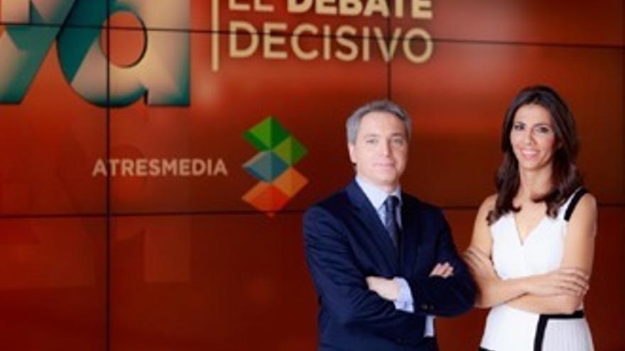 Debate histórico en TV: del 'cálmese' a la alta tensión final con Atresmedia ganadora