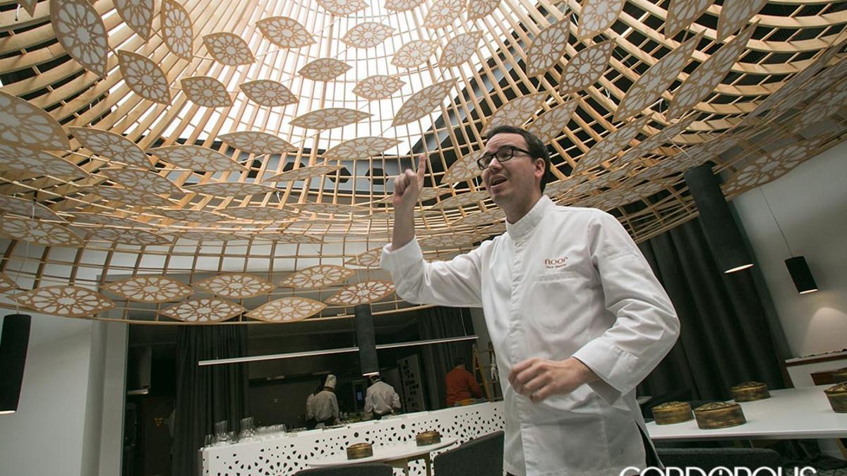 El chef Paco Morales