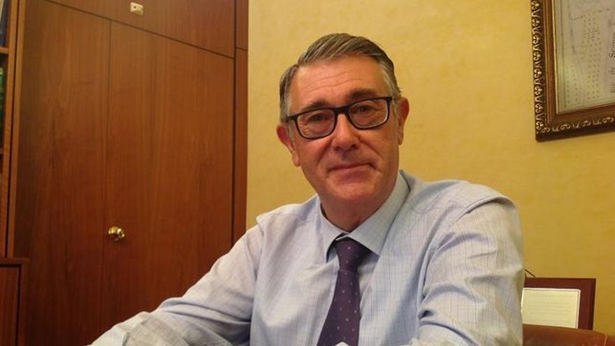 Mario Urrea, presidente de la Confederación Hidrográfica del Segura / LOURDES CIFUENTES