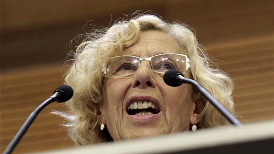 Los cien días de Carmena, una alcaldesa 'novata'