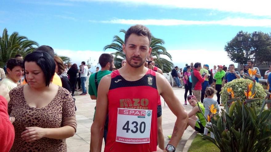Cristóbal Guerra Sánchez, del Club Mazucator Trail,