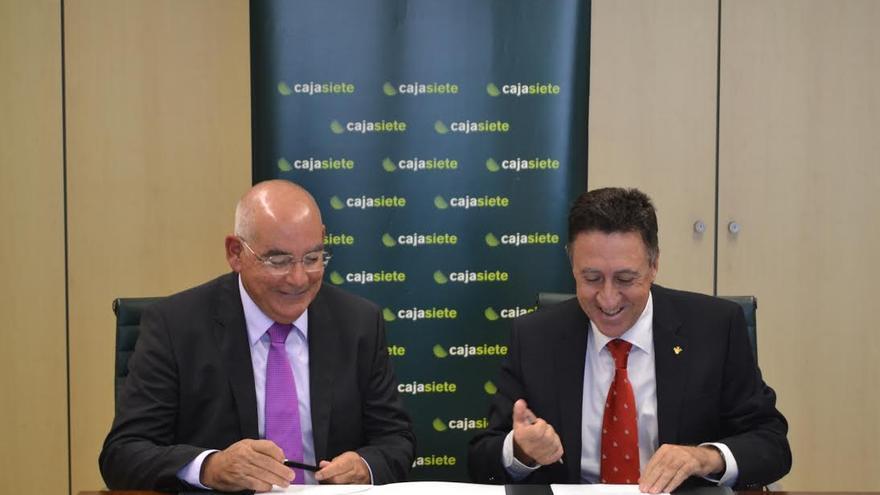 José Luis García-Estrada (i) y Fernando Berge.