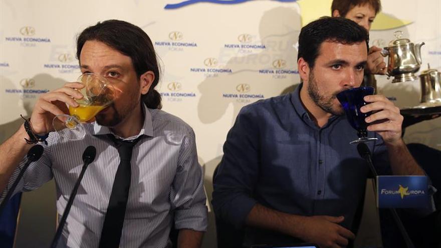 """Garzón pide precaución con las encuestas pero """"palpa"""" la posibilidad de gobernar"""